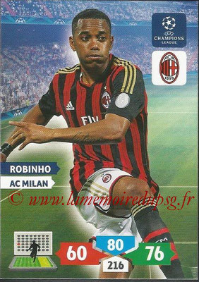 2013-14 - Adrenalyn XL champions League N° 187 - ROBINHO (AC Milan)