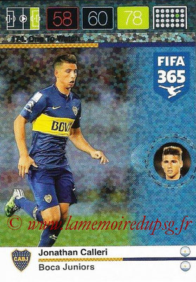 2015-16 - Panini Adrenalyn XL FIFA 365 - N° 174 - Jonathan CALLERI (Boca Juniors) (One to Watch)