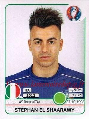 Panini Euro 2016 Stickers - N° 512 - Stephan EL SHAARAWY (Italie)