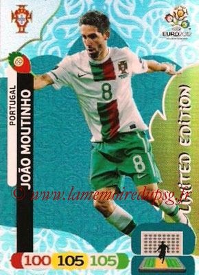 Panini Euro 2012 Cards Adrenalyn XL - N° LE40 - Joao MOUTINHO (Portugal) (Limited Edition)