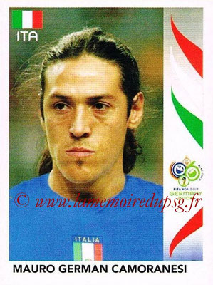2006 - Panini FIFA World Cup Germany Stickers - N° 330 - Mauro German CAMORANESI (Italie)