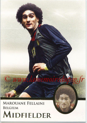 2013 - Futera World Football Unique - N° 037 - Marouane FELLAINI (Belgique) (Midfielder)