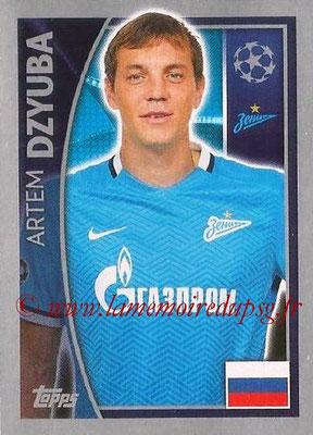 2015-16 - Topps UEFA Champions League Stickers - N° 533 - Artem DZYUBA (FC Zenit)