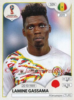 2018 - Panini FIFA World Cup Russia Stickers - N° 616 - Lamine GASSAMA (Senegal)