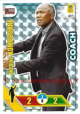 N° 477 - Antoine KOMBOUARE (1990-95, PSG > 1999-03, Entraîneur réserve PSG > 2009-Déc 11, Entraîneur PSG > 2017-18, Entraîneur Guingamp) (Coach)