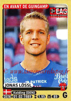 2015-16 - Panini Ligue 1 Stickers - N° 122 - Jonas LOSSL (EA Guingamp)