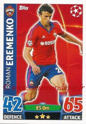 2015-16 - Topps UEFA Champions League Match Attax - N° 355 - Roman EREMENKO (CSKA Moscou)