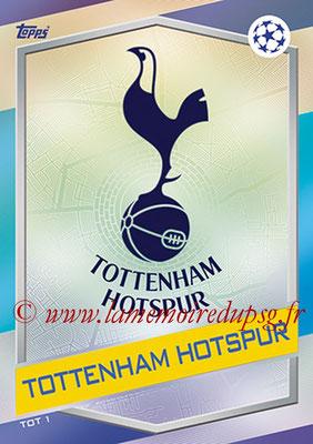 2016-17 - Topps UEFA Champions League Match Attax - N° TOT1 - Logo Tottenham Hotspur