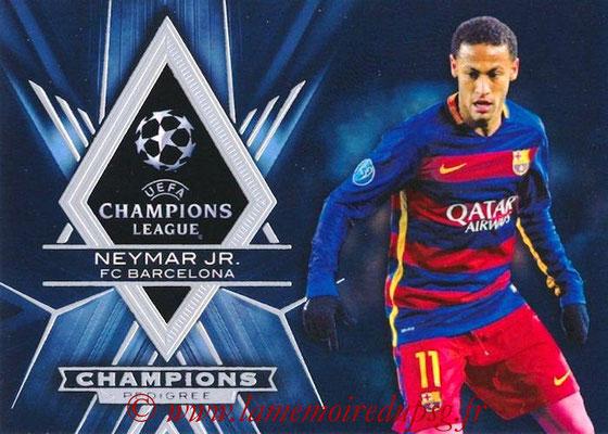 2015-16 - Topps UEFA Champions League Showcase Soccer - N° CP-N - Neymar Jr (FC Barcelone) (Champions Pedigree)
