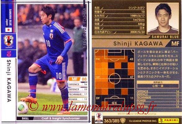 2013-14 - WCCF - N° 363 - Shinji KAGAWA (Japon)