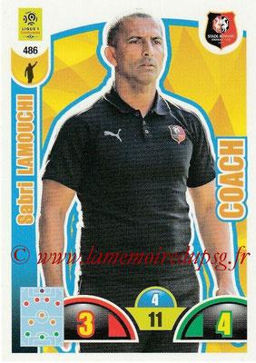 2018-19 - Panini Adrenalyn XL Ligue 1 - N° 486 - Sabri LAMOUCHI (Lille) (Coach)