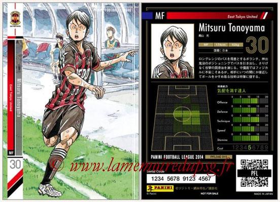 Panini Football League 2014 - PFL04E - N° 015 - Mitsuru Tonoyama (East Tokyo United)