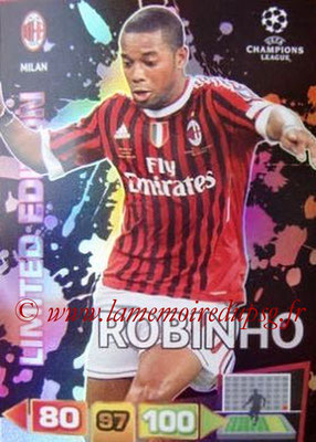 2011-12 - Panini Champions League Cards - N° LE34 - ROBINHO (Milan AC) (Limited Edition)