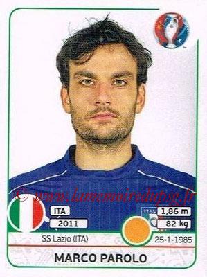 Panini Euro 2016 Stickers - N° 508 - Marco PAROLO (Italie)