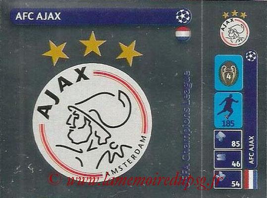 2014-15 - Panini Champions League N° 027 - Logo AFC Ajax