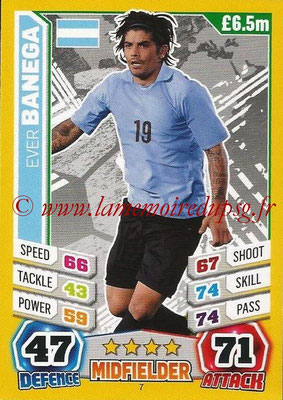 Topps Match Attax England 2014 - N° 007 - Ever BANEGA (Argentine)