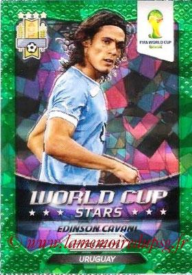 N° WC36 - Edinson CAVANI (2013-??, PSG > 2014, Uruguay) (World Cup Stars)