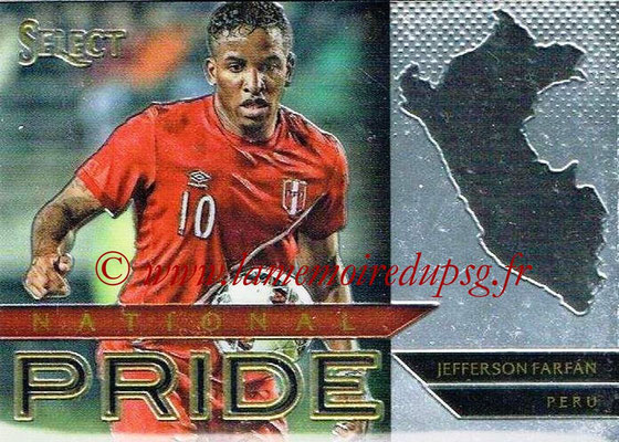 2015 - Panini Select Soccer - N° NP27 - Jefferson FARFAN (Pérou) (National Pride)