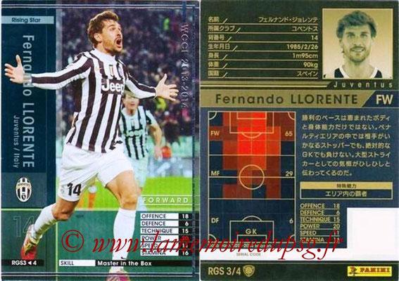 2013-14 - WCCF - N° RGS3 - Fernando LLORENTE (Arsenal FC) (Rising Star)