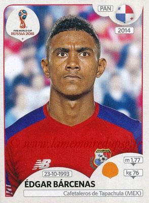 2018 - Panini FIFA World Cup Russia Stickers - N° 544 - Edgar BARCENAS (Panama)