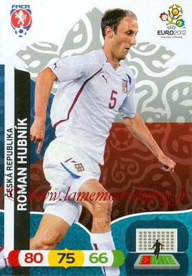 Panini Euro 2012 Cards Adrenalyn XL - N° 003 - Roman HUBNIK (République Tchèque)