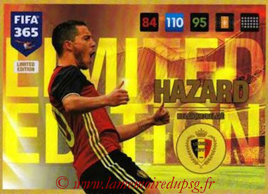 2016-17 - Panini Adrenalyn XL FIFA 365 - N° LE50 - Eden HAZARD (Belgique) (Limited Edition)