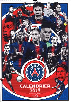Calendrier PSG 2019