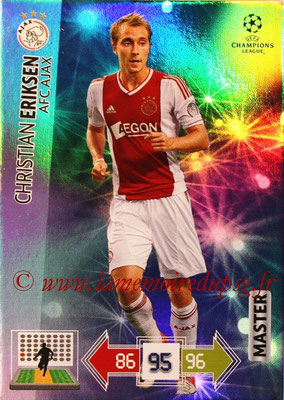 2012-13 - Adrenalyn XL champions League N° 326 - Christian ERIKSEN (AFC Ajax) (Master)