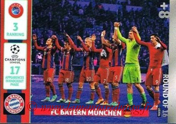 2014-15 - Adrenalyn XL champions League Update edition N° UE006 - Bayern Munich (Round of 16)