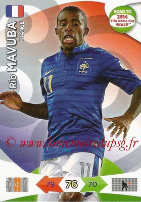 2014 - Panini Road to FIFA World Cup Brazil Adrenalyn XL - N° 093 - Rio MAVUBA (France)