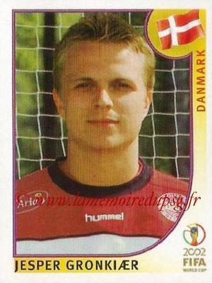 2002 - Panini FIFA World Cup Stickers - N° 095 - Jesper GRONKIAER (Danemark)