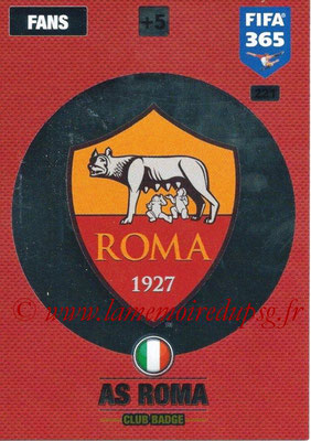 2016-17 - Panini Adrenalyn XL FIFA 365 - N° 221 - Logo AS Roma