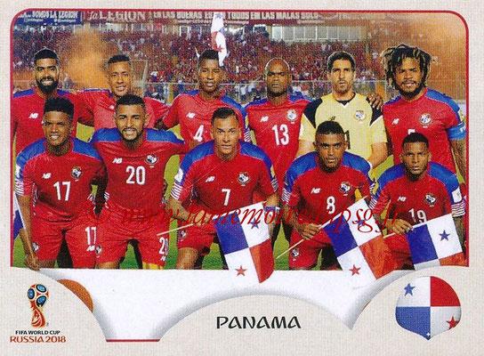 2018 - Panini FIFA World Cup Russia Stickers - N° 533 - Equipe Panama