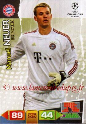 2011-12 - Panini Champions League Cards - N° 056 - Manuel NEUER (FC Bayern Munich)