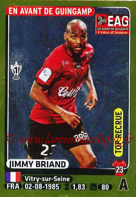 2015-16 - Panini Ligue 1 Stickers - N° 144 - Jimmy BRIAND (EA Guingamp) (Top recrue)