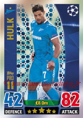 2015-16 - Topps UEFA Champions League Match Attax - N° P14 - HULK (FC Zenit) (Pro 11)