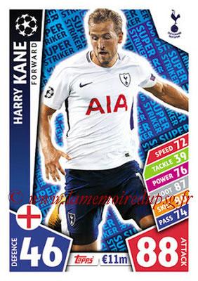 2017-18 - Topps UEFA Champions League Match Attax - N° SS08 - Harry KANE (Tottenham Hotspur) (Super Strikers)