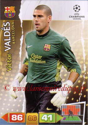 2011-12 - Panini Champions League Cards - N° 023 - Victor VALDES (FC Barcelone)