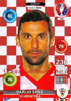 Panini Euro 2016 Cards - N° 148 - Darijo SRNA (Croatie) (Expert)