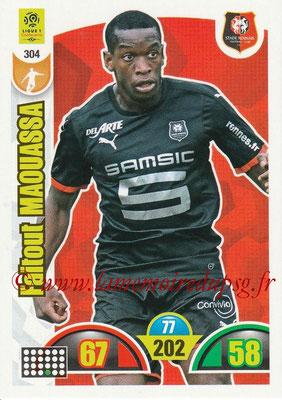2018-19 - Panini Adrenalyn XL Ligue 1 - N° 304 - Faitout MAOUASSA (Rennes)
