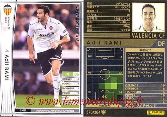 2012-13 - WCCF - N° 373 - Adil RAMI (FC Valence)