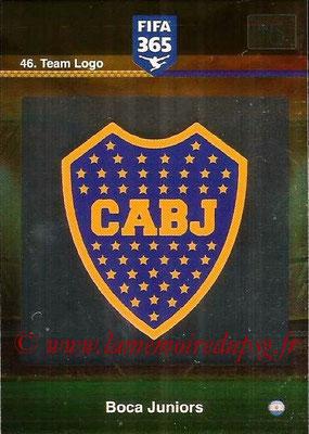 2015-16 - Panini Adrenalyn XL FIFA 365 - N° 046 - Ecusson Boca Juniors (Team Logo)