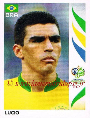 2006 - Panini FIFA World Cup Germany Stickers - N° 384 - LUCIO (Brésil)