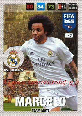 2016-17 - Panini Adrenalyn XL FIFA 365 - N° 147 - MARCELO (Real Madrid CF)