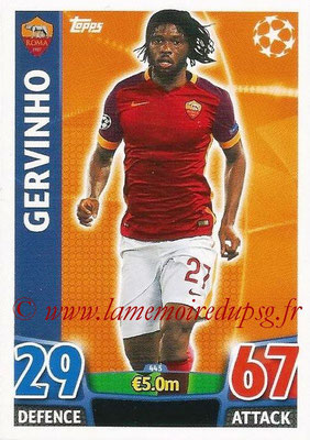 2015-16 - Topps UEFA Champions League Match Attax - N° 445 - GERVINHO (AS Roma)
