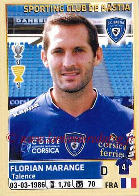 2014-15 - Panini Ligue 1 Stickers - N° 006 - Florian MARANGE (SC Bastia)
