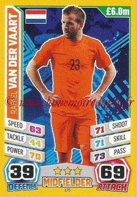 Topps Match Attax England 2014 - N° 175 - Rafael VAN DER VAART (Pays-Bas)