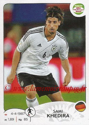 2014 - Panini Road to FIFA World Cup Brazil Stickers - N° 045 - Sami KHEDIRA (Allemagne)