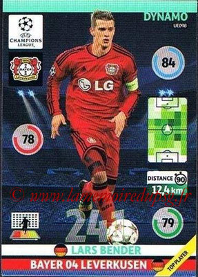 2014-15 - Adrenalyn XL champions League Update edition N° UE098 - Lars BENDER (Bayer Leverkusen) (Dynamo)