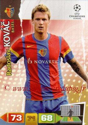 2011-12 - Panini Champions League Cards - N° 042 - Radoslav KOVAC (FC Bâle)